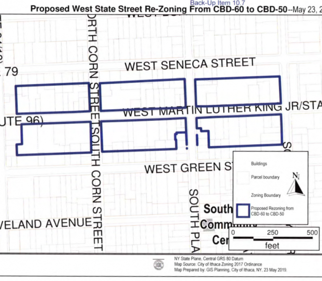 I oppose downzoning West MLK Street